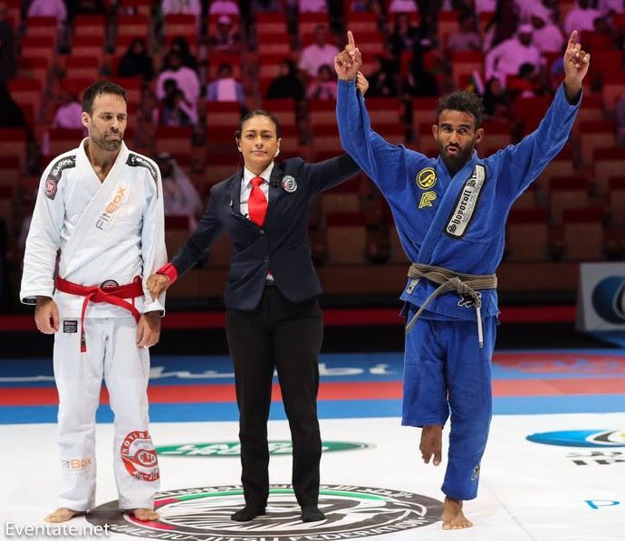 Casca Grossa Alex Taveira compete de igual para igual nos campeonatos mundiais de BJJ  (Foto: Imagem/Divulgação)