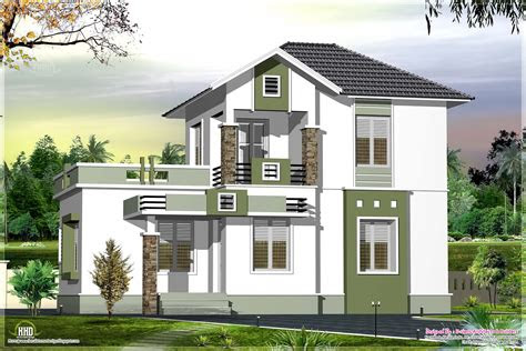 small double floor home design   sqfeet home