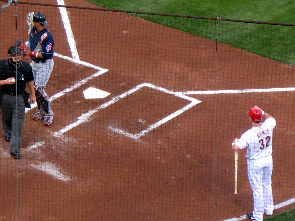 Reds vs Indians May 22 2009