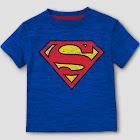 petiteToddler Boys' DC Comics Superman Man of Steel Short Sleeve T-Shirt - Blue 3T, Boy's
