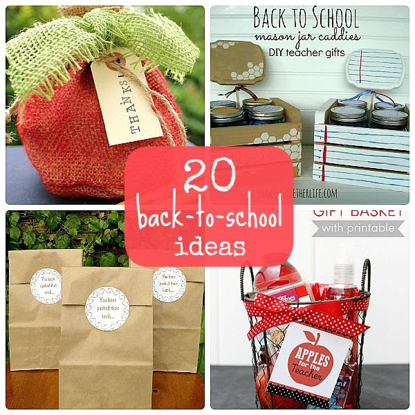 20 Back to School Ideas
