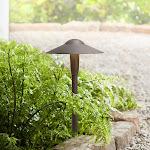 "Kichler Landscape 16""H 3000K LED Bronze Dome Path Light - Style # T3412"