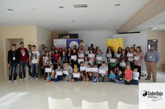 The first event finished successfully –  CoderDojo of Nafpaktos