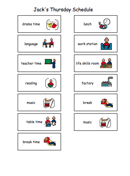 Seven Steps for Setting up a Stellar Autism Classroom: Schedules ...