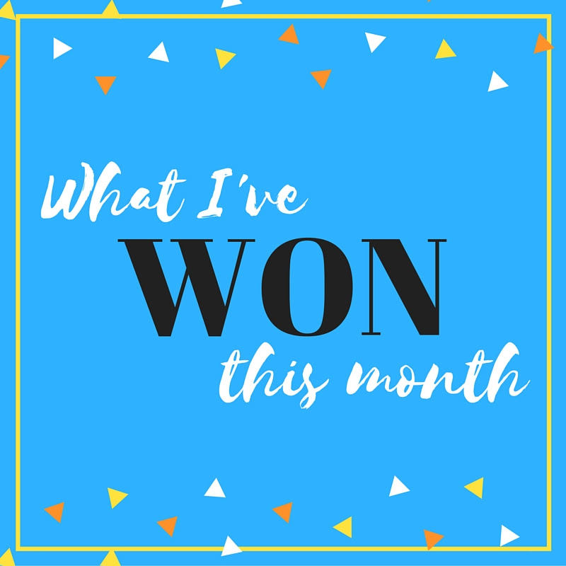 This Month I've Won...