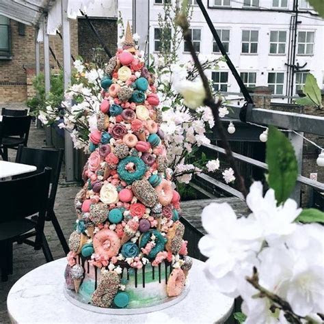 Unicorn Croquembouche Cake Wedding Cake   Anges de Sucre