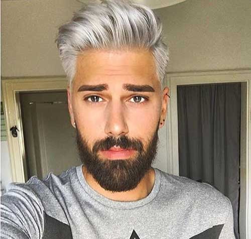 Grey Hair Color on Coolest Guys on Planet | The Best Mens ...