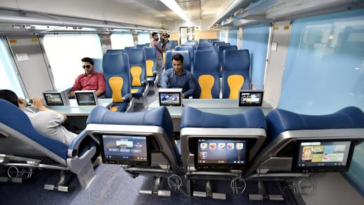 WiFi On Rail - Now Stream Music, Watch Videos Inside The Train!