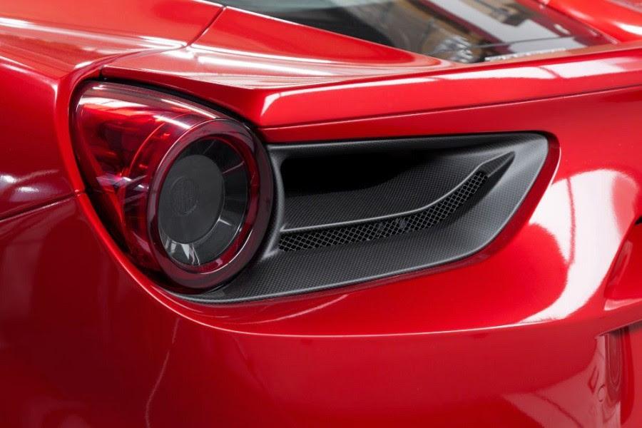 Ferrari 488 GTB/Spider Capristo Tail Light Covers in ...
