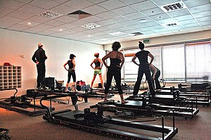 Pilates at a Gym Category:Pilates Category:Fit...