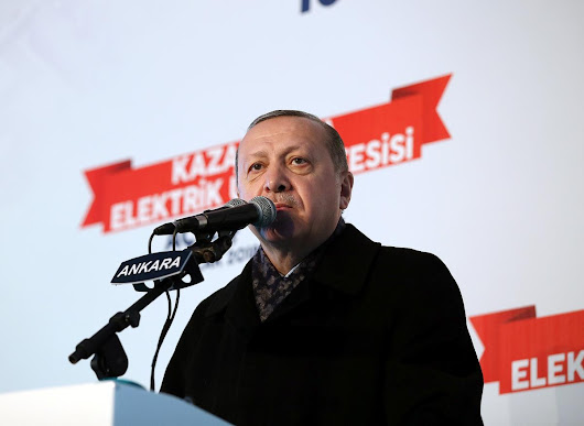 Erdogan: we will 'strangle' U.S.-backed force in Syria