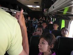 En el bus de regreso