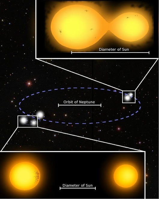 Astronomers Find Rare 5-Star System