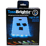 Toss Brightz - Blue - Maker & DIY Kits for Ages 4 to 12 - Fat Brain Toys