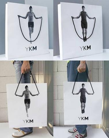 shopping bag or playground