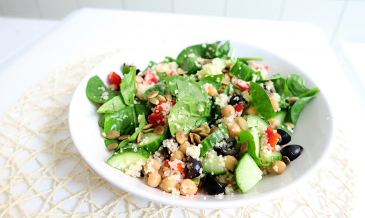Recept: Vegan Couscous Salade - Optima Vita
