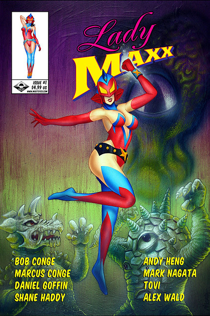 Lady Maxx comic book