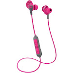 JLab Audio JBuds Pro Signature Bluetooth Wireless In-Ear Earphones with Mic - Gray/Pink