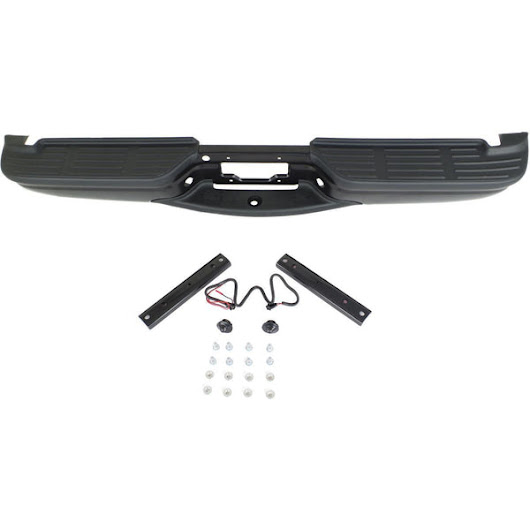 OEM Replacement Rear Bumper (With Accessories) For Ford Super Duty (25