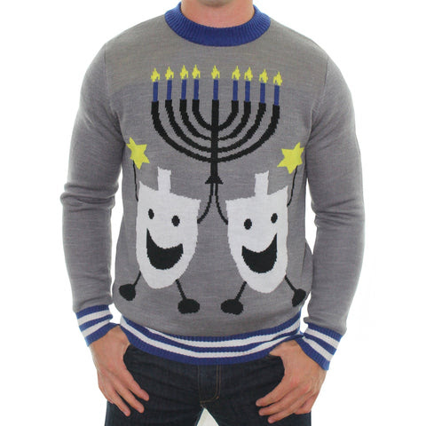 The Hanukkah Sweater Tacky Cheap Bad Jumpers