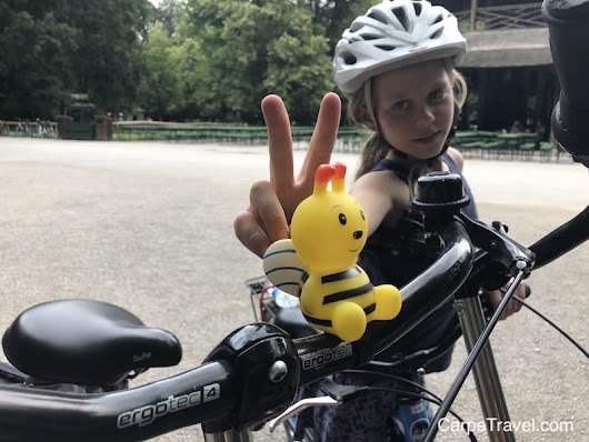 Experiencing Munich on Two Wheels...with kids