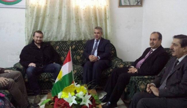 """المجلس """"الوطني"""" الكردي السوري يستقبل وفداً أميركياً في قامشلي!"""