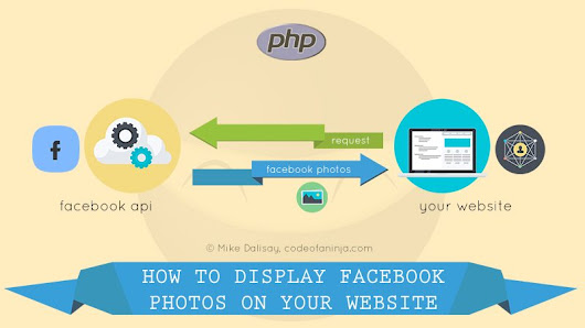 Display Facebook PHOTOS on Website - Simple Script