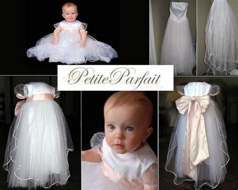 turn your wedding dress into a christening gown by