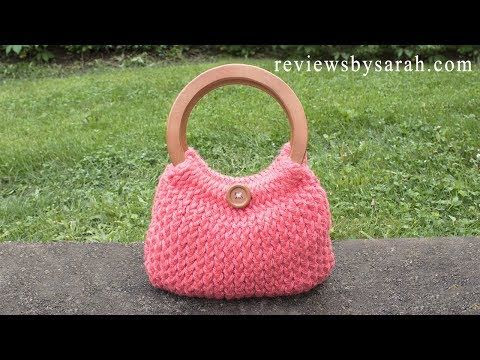 (552) How to Loom Knit Simple Handbag - Knitted Handbag - Beginner Loom Knitting - YouTube | loom knit patterns | Pinterest | Loom knitting, Loom knitting patterns and Handbag patterns