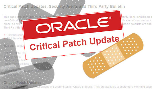 Oracle Sets All-Time Record with July Critical Patch Update