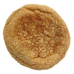 Burry English Muffin 100 Percent Whole Wheat, T and S, Forksplit, 2 Ounce - 72 per case.