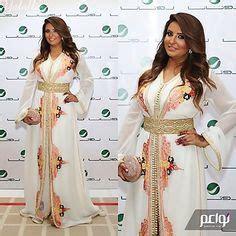 Moroccan white kaftan dress gold embroidery dubai Abaya