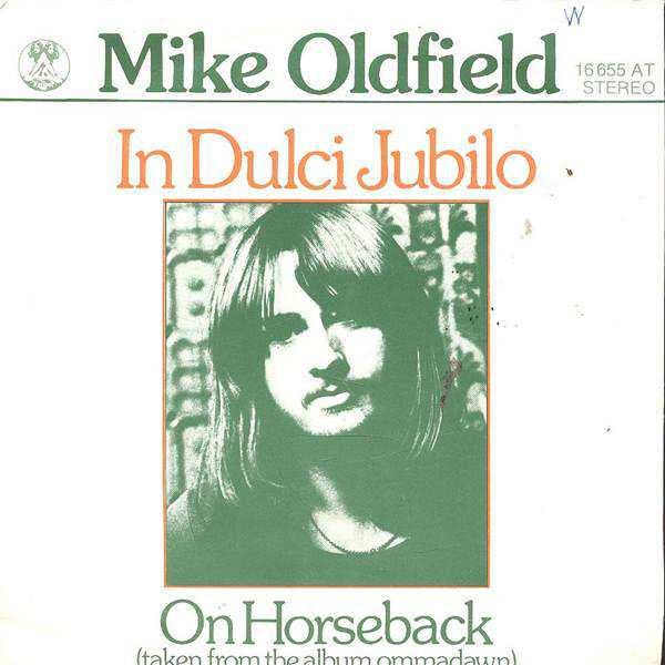 Resultado de imagen para in dulci jubilo mike oldfield