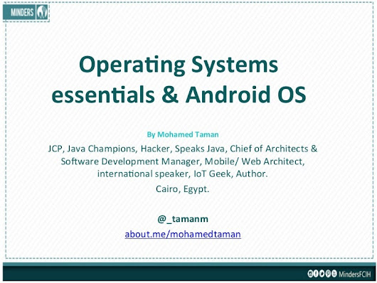 Operating systems essentials & Android OS concepts