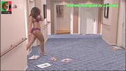 Andreia Rodrigues sensual em lingerie na serie Mare Alta