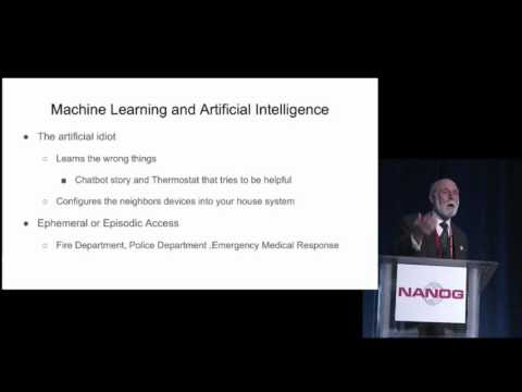 📽 NANOG 68 Keynote Internet of Things - Vint Cerf