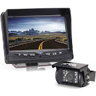 "Rear View Safety Backup Camera System with 7"" Display Black RVS-770613"