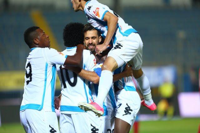 مشاهدة مباراة بيراميدز والجونة بث مباشر 19-2-2019 الدوري المصري