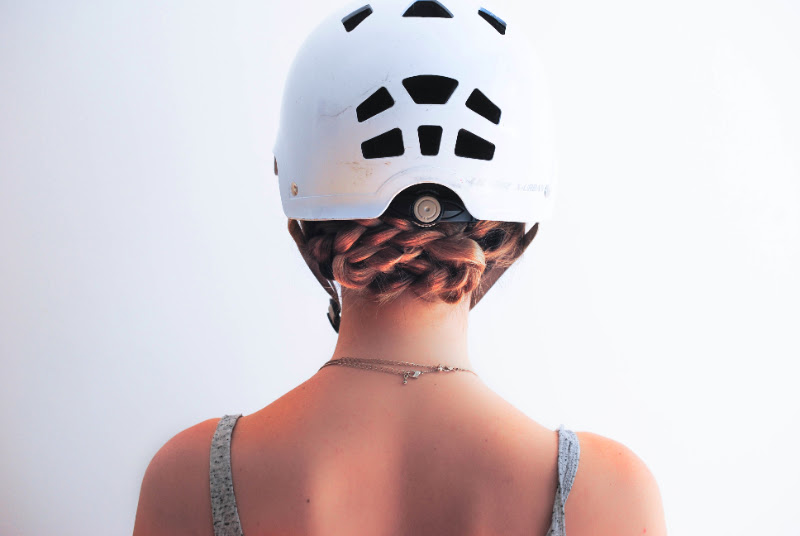 How To Style Your Hair Wearing An Helmet 1 Dentelle Fleursdentelle Fleurs