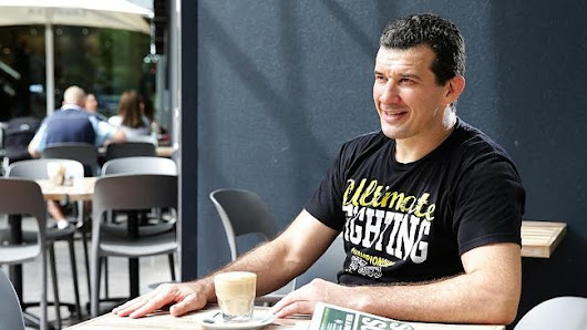 Coffee enthusiast Anthony Perosh confident of beating down opponent at May's UFC Adelaide event