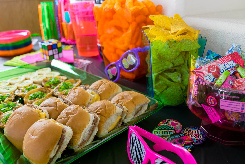 Image result for 80s party food
