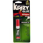 Krazy Glue Super Glue, All Purpose, No Run Gel, Precision Tip - 0.07 oz
