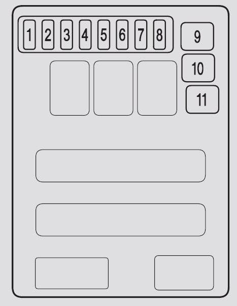 2008 Acura Mdx Fuse Box Diagram