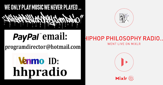 HipHop Philosophy Radio on Mixlr
