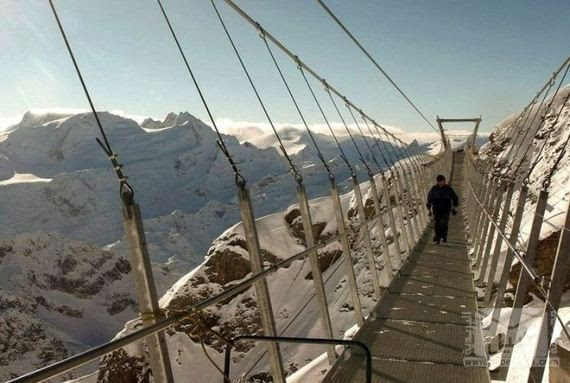 05-The Highest Suspension Bridge in Europe