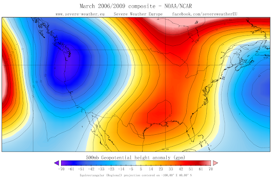 March 2015 – USA Severe weather pattern potential