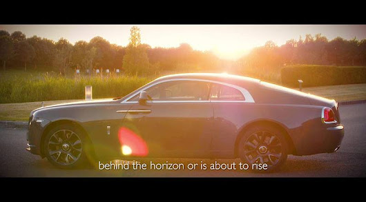 Rolls-Royce Introduced Wraith Luminary Collection: Video - Motoraty