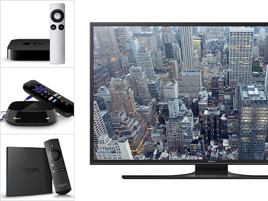 Score an Ultra-HD TV Plus Your Choice of a Roku 3, Amazon Fire TV or Apple TV!