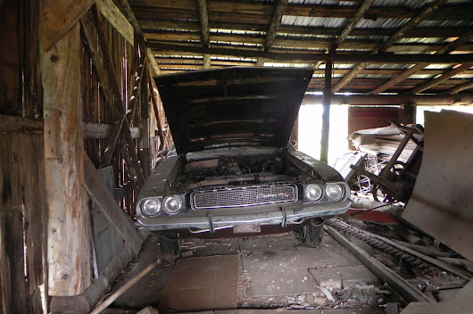 1970 Dodge Challenger 440 Six Pack Rescued after Decades of Storage