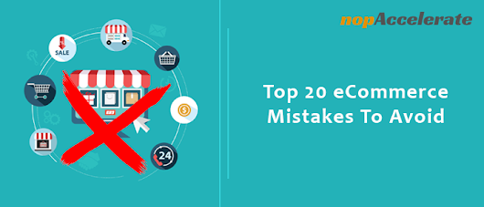 eCommerce mistakes to avoid for entrepreneurs and startups